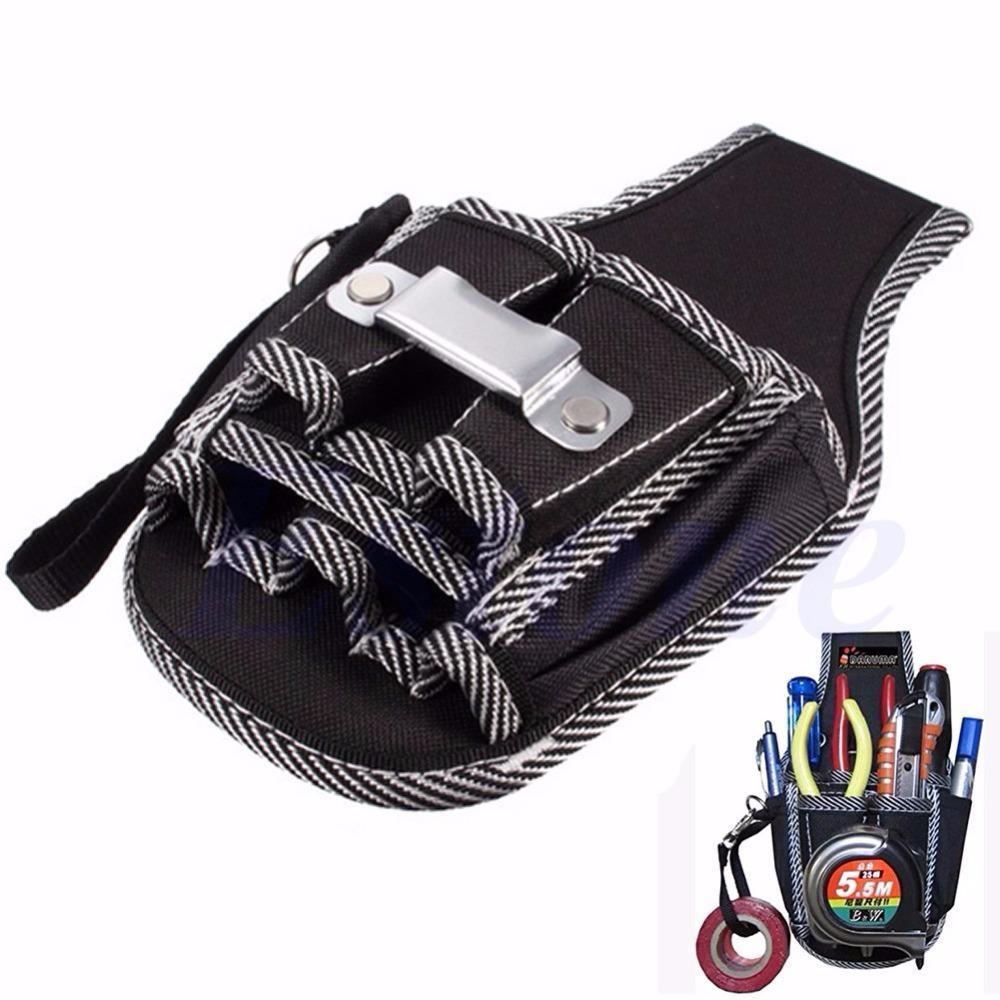 738f4b9a12e8 Wholesale-9in1 Electrician Waist Pocket Belt Tool Pouch Bag Screwdriver  Utility Kit Holder Electrician simple multi-function pockets