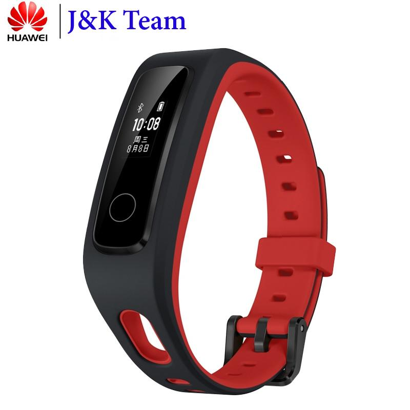 Huawei Honor Band 4 Running Smart Bracelet 50m Waterproof Fitness Tracker Touch Screen Message Call Notification J190522