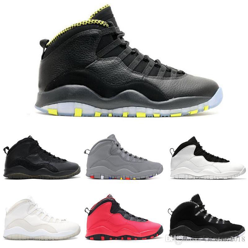 c801ab6db42e7a Compre Nike Air Jordan 10 10s Oferta Especial 10 10s Cimento Chicago ...