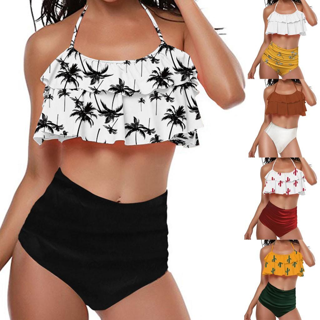Großhandel 2019 Fashion Bikini SetWomen Tankini Sets Mit