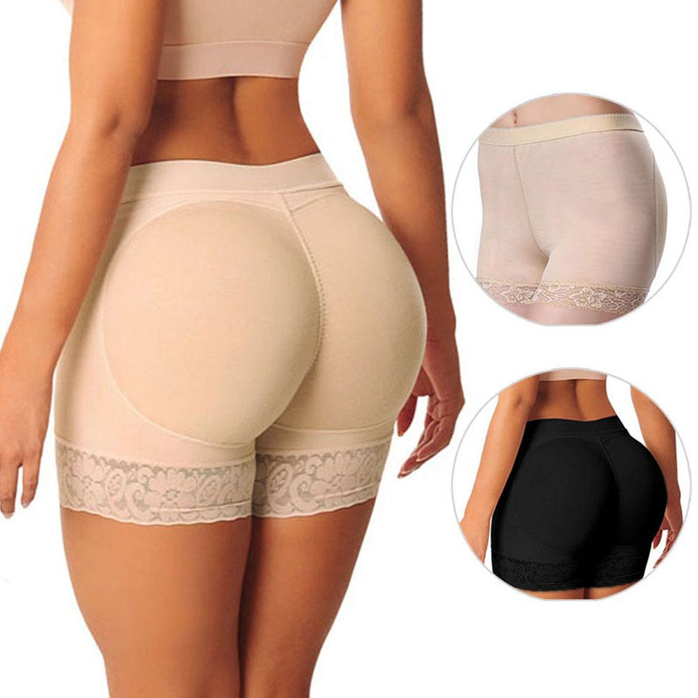 ded80369a32a 2019 New Shaper Pants Sexy Boyshort Panties Woman Fake Ass Underwear Push  Up Padded Panties Buttock Shaper Butt Lifter Hip Enhancer From Qutecloth,  ...