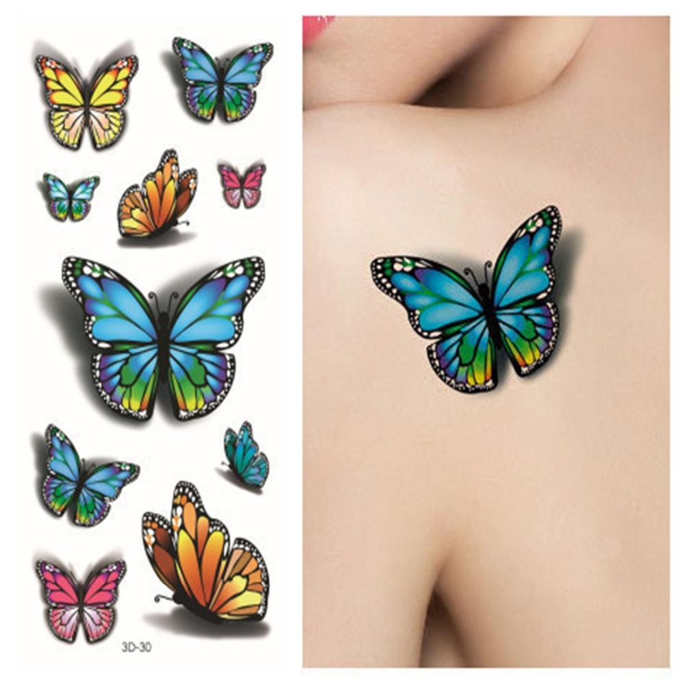 bf1e21a6f2f72 Bullet Sexy Tatoo 3 Purple Esigns Pastel 3D Butterfly Tattoo Body Art  Colored Drawing Waterproof 3d Stickers Best Tattoo Machine Cheap Tattoo Ink  From ...