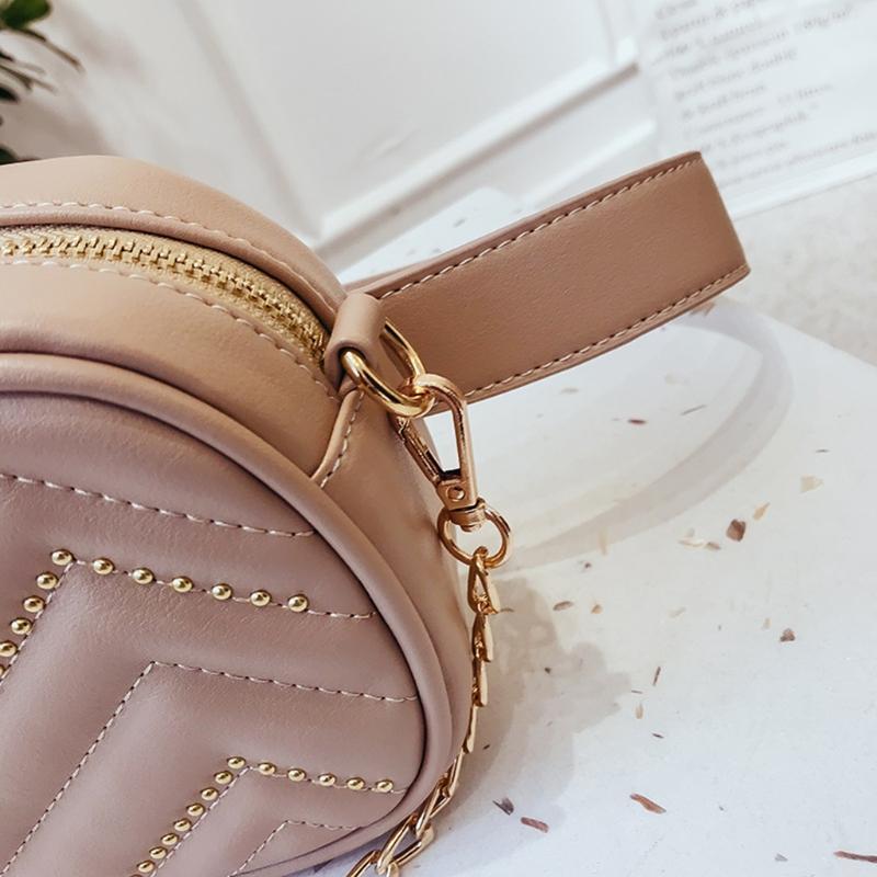 Hohe Qualität Mode Mädchen Frauen Taille Tasche Brieftasche Handtasche Fanny Pack Handy Schlüssel Geldbörse Gürtel Dekoration Bauchtaschen