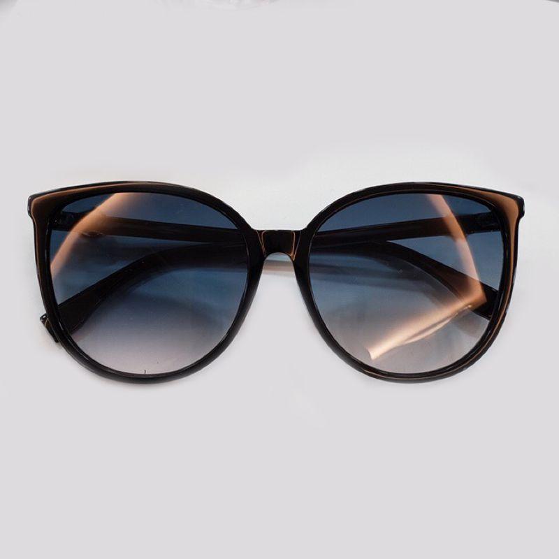 538f4a14b Vintage Big Size Frame Round Sunglasses Women 2019 Fashion Luxury Brand  Designer Oculos De Sol Feminino UV400 Shades Vuarnet Sunglasses Bifocal  Sunglasses ...
