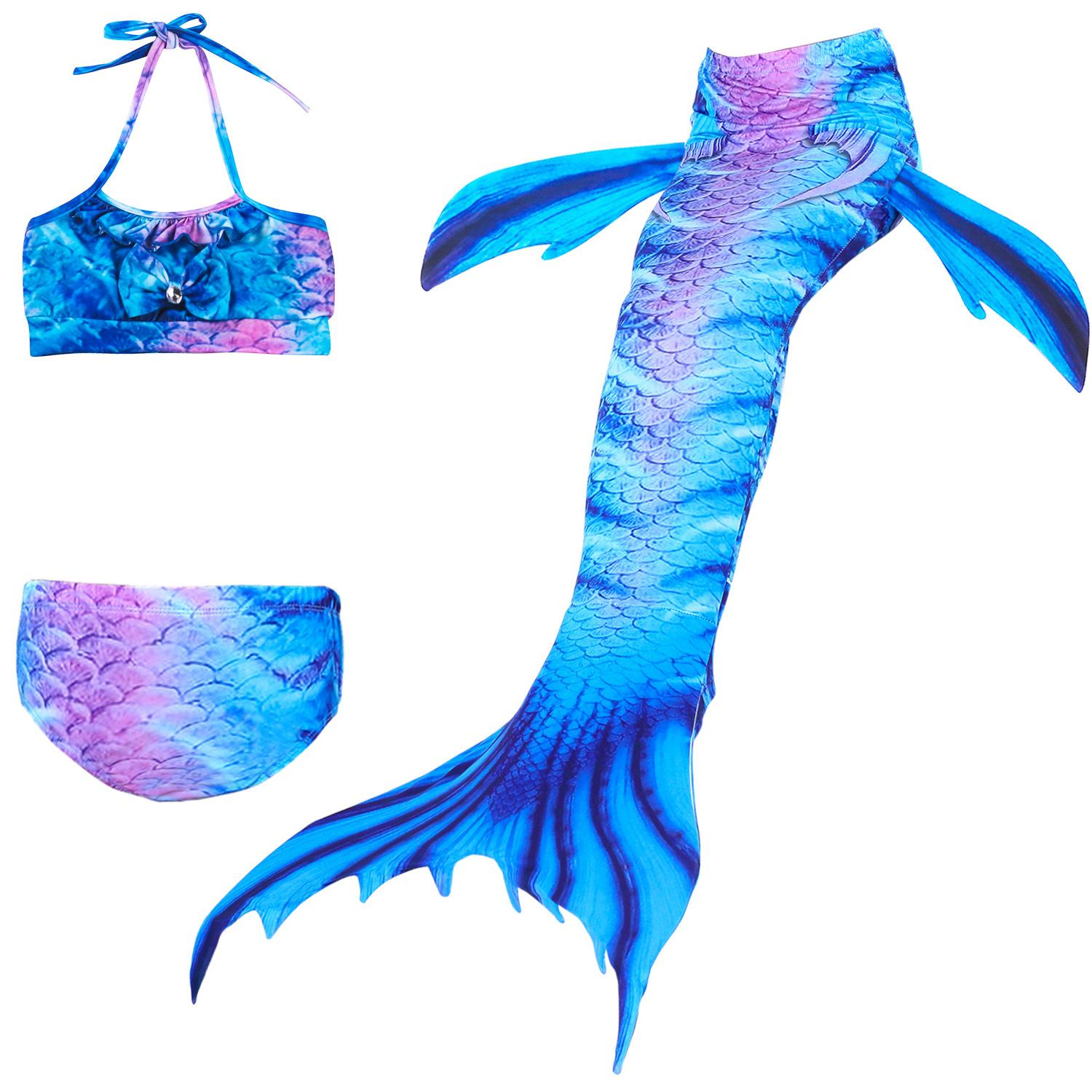 b5b67675e1605 2019 Little Mermaid Tails For Swimming Costume Mermaid Tail Cosplay ...
