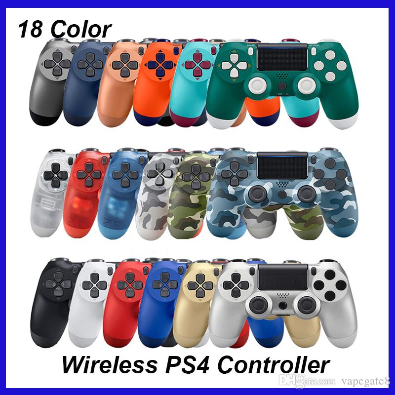 Top Wireless Controller SHOCK 4 Gamepad for PS4 Joystick with Retail package LOGO Game Controller from Flydream