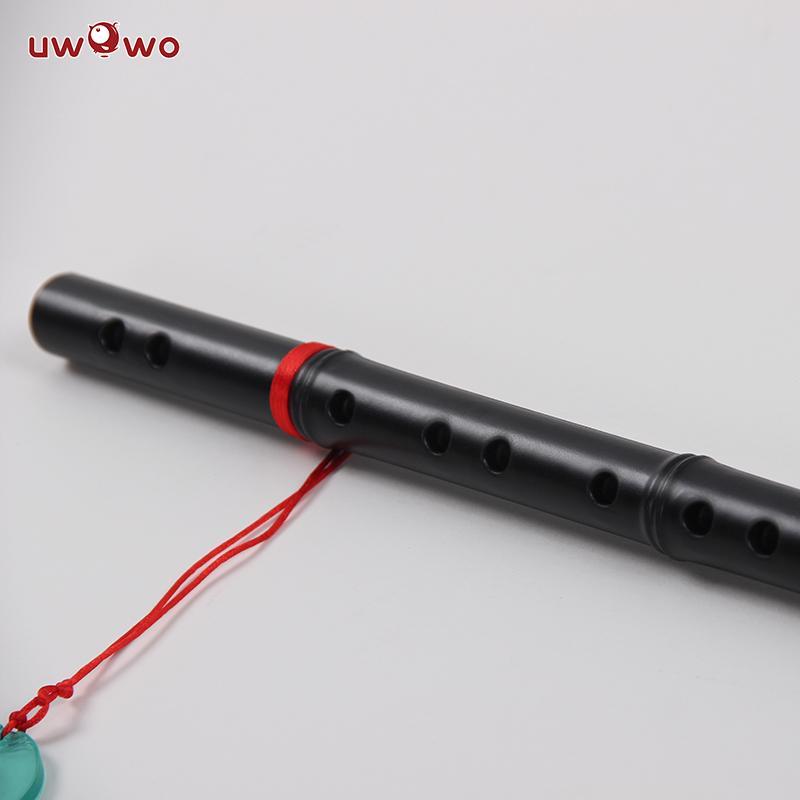 UWOWO Wei Wuxian Mo Dao Zu Shi Cosplay Accessory Grandmaster of Demonic  Cultivation Cosplay Prop Flute