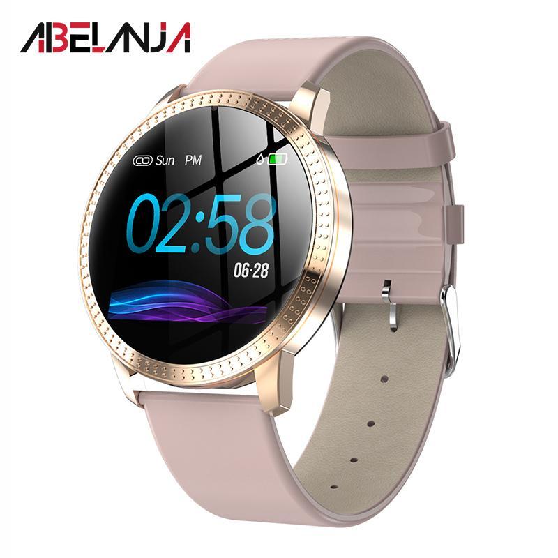 cb18bf06d Comprar Reloj Inteligente Reloj Inteligente Mujer Hombre Pulsera Presión  Arterial Monitor De Ritmo Cardíaco Deportes Pulsera Inteligente Impermeable  ...