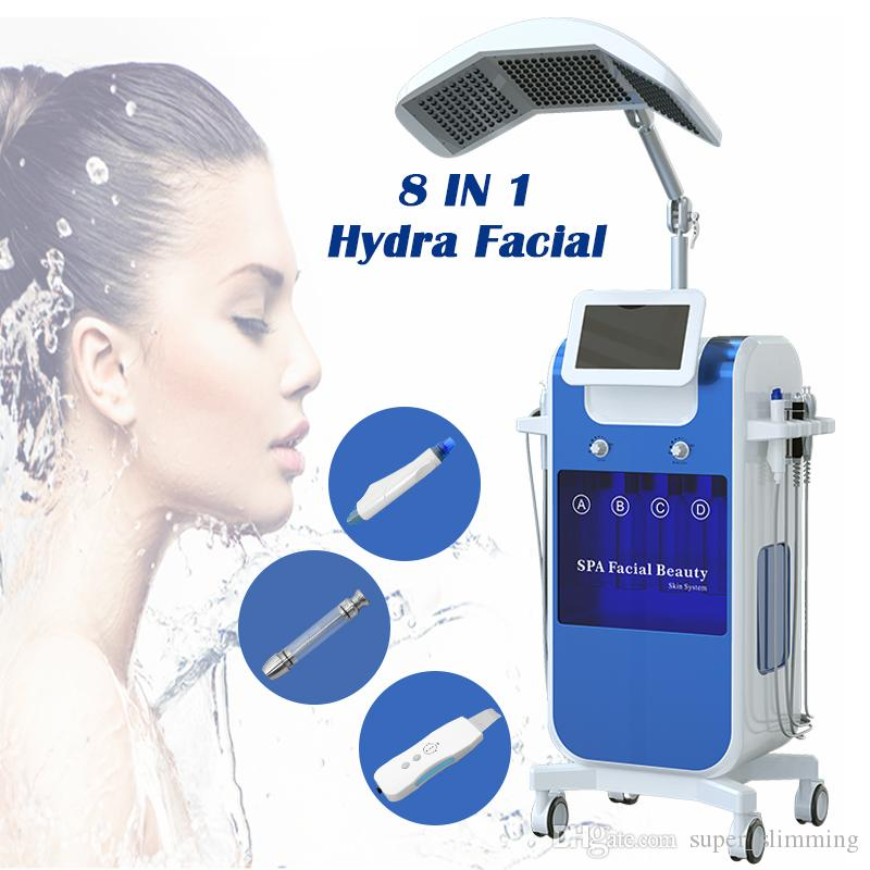 oxygen therapy equipment hydrafacial spa derma peel machine diamond  microdermabrasion acne scars device peeling treatment for acne