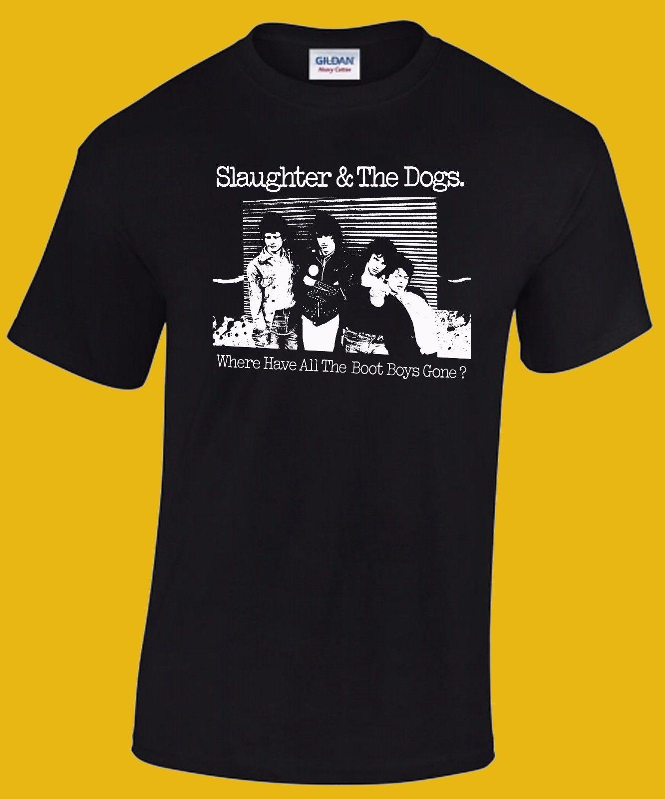 Dead Boys, Buzzcocks, Stranglers, Damned SLAUGHTER /& The DOGS T-shirt