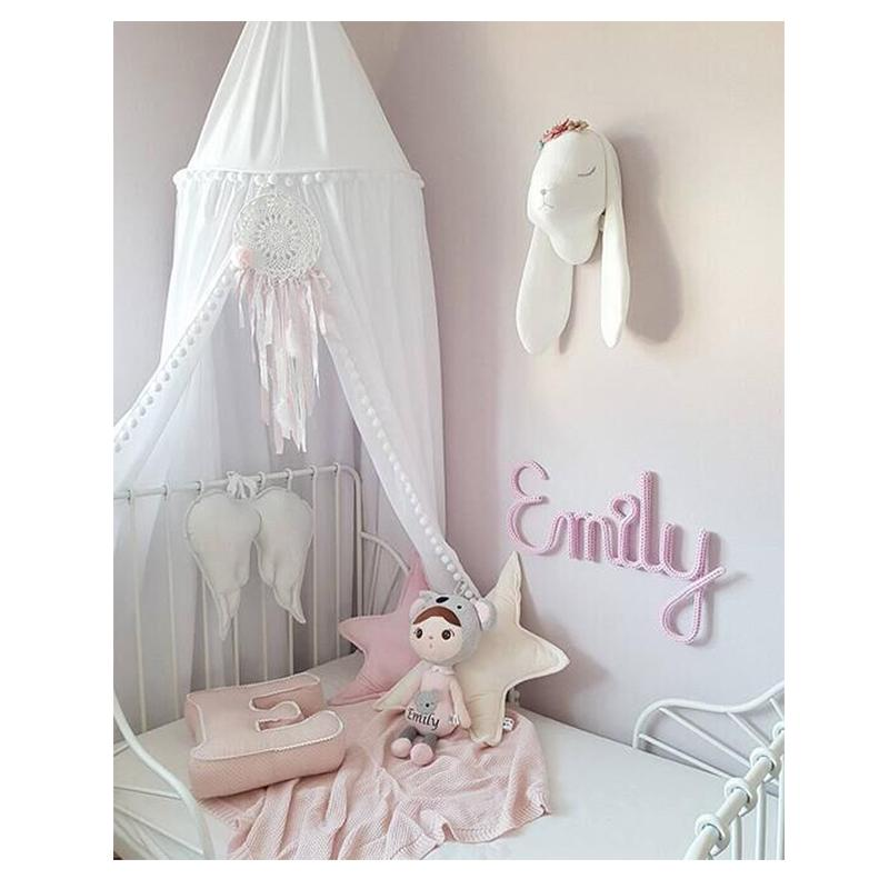 Kids Play Room Decor Teepee Kids Baby Princess Bed Canopy Bedcover Mosquito Net Curtain Bedding Dome Tent Best Gift