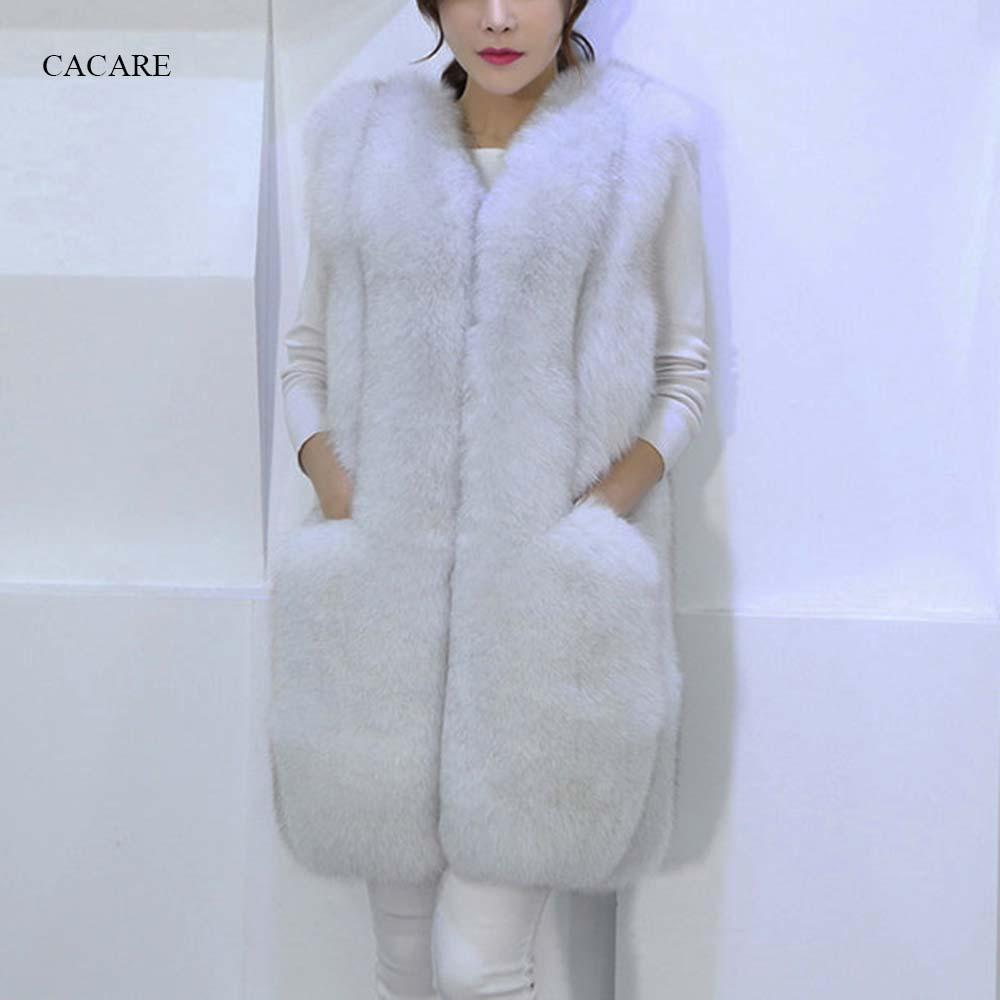 1699380b2 2019 Faux Fur Coat Vest 2018 Autumn Winter Fluffy Long Fur Coat Fake Fur  Jacket Shaggy Cardigan 3 Choices F0141 From Sarmit, $62.43 | DHgate.Com
