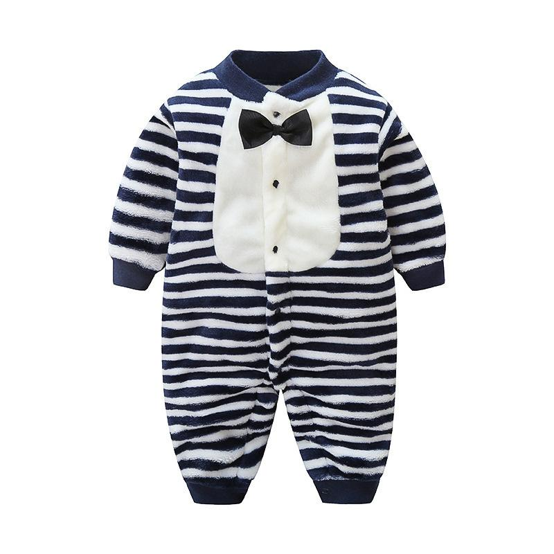6980cecd6040 2019 Good Qulaity Baby Boys Clothing Winter New Cotton Romper Newborn Warm  Outfits Infant Flannel Onesies Toddler Plus Velvet Pajamas From Westbit17