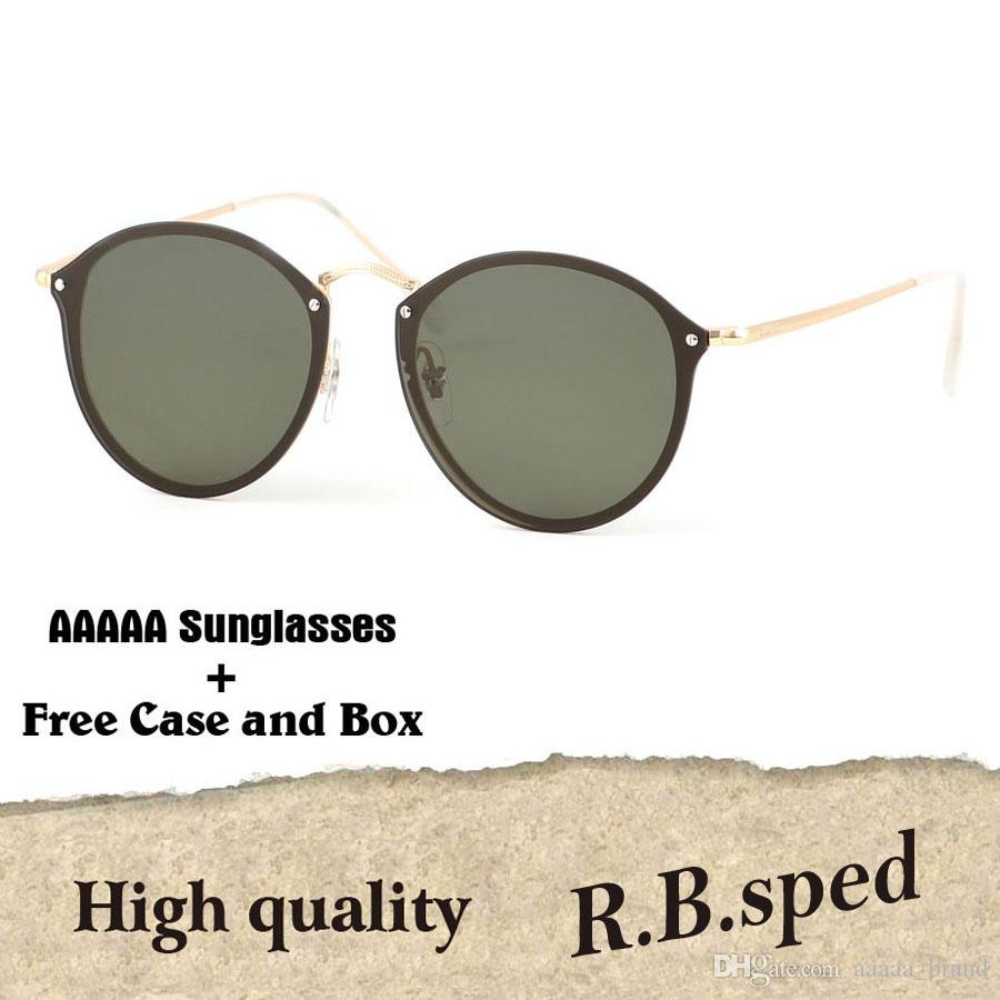 2330878206d 2019 Fashion Trend Round Sunglasses Vintage Retro Brand Design Polarized  Mirror Sun Glasses Women Oculos De Sol With Original Retail Box Sunglasses  Case ...