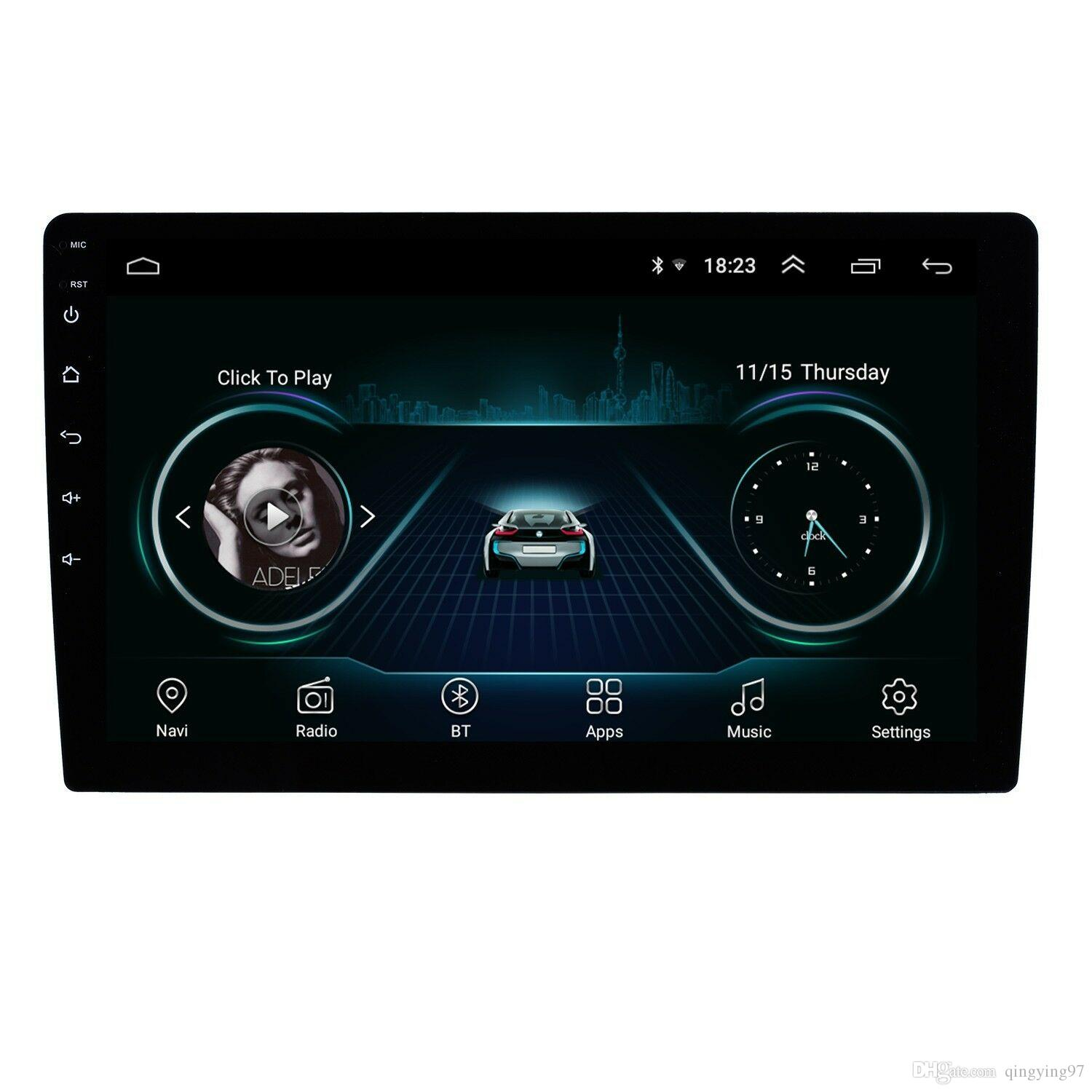 10 inch HD HD touchscreen Android 8.1 GPS Navigation Bluetooth Car Audio System