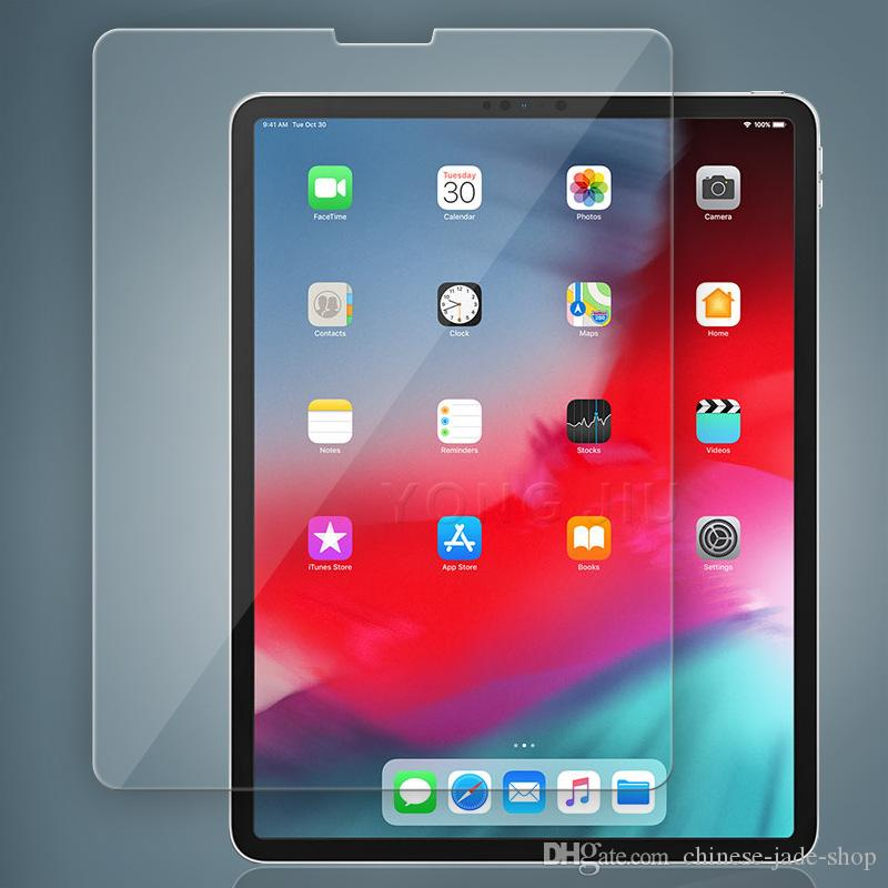 promo code b6baf ac8aa For iPad Pro 11 inch 12.9 inch 2018 9H Tempered Glass Screen Protector  Protector NO Package 200pcs/lot