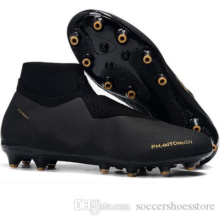 5257dab18 2019 Mens Soccer Cleats Phantom Vision Elite DF FG AG PSG Outdoor Soccer  Shoes X EA Sports Phantom Vision Football Boots Botas De Futbol New  Matching Mother ...