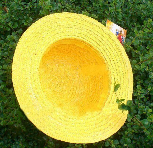 fcf76132389 2019 NEW ONE PIECE LUFFY Anime Cosplay Hat Cap Straw Boater Set A From  Kktie