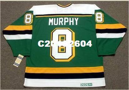 30b31fa60 Men  8 LARRY MURPHY Minnesota North Stars 1989 CCM Vintage RETRO Home Hockey  Jersey Or Custom Any Name Or Number Retro Jersey UK 2019 From C20182604