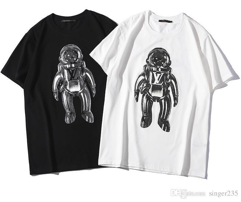 ba50020bdcc Luxury Europe Italy Paris T-Shirt Women Tiger Tee Top Short Sleeve Summer  Cotton Striped crew Neck Letter Print Casual Tees Black White