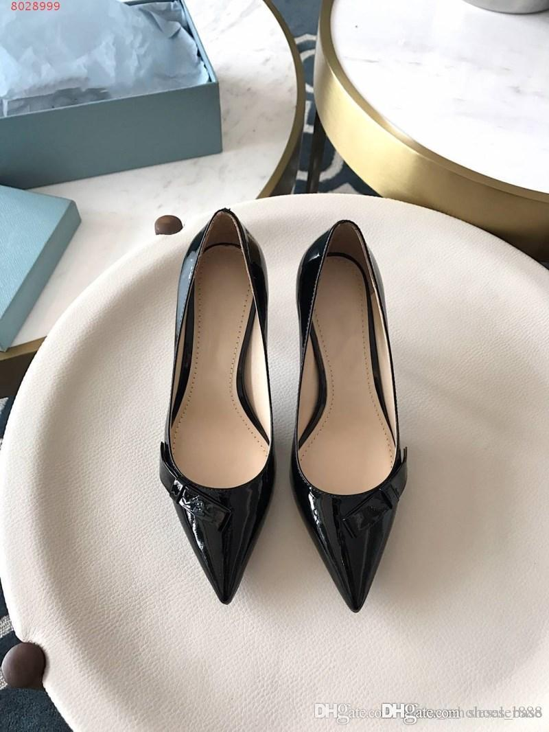 e1ea1520a9224 New Delicate Luxury Women s Shoes Imported Pearly Luster Leather ...