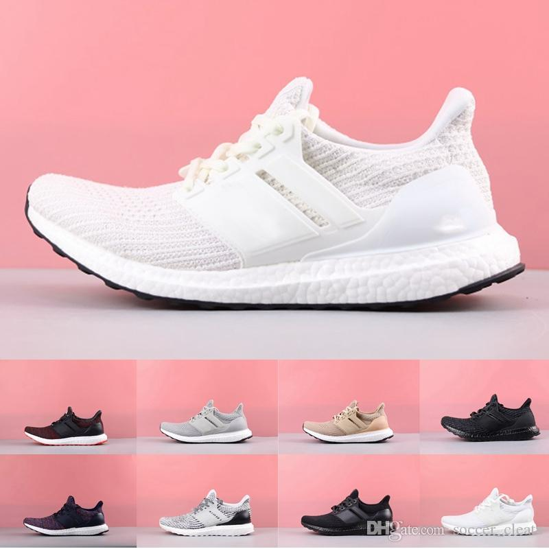 f4c5d3e0e 2019 Ultra Boost 3.0 4.0 Triple Black White Primeknit Oreo CNY Blue Women  Running Shoes For Men Ultra Boosts Ultraboost Sports Sneakers From  Soccer cleats