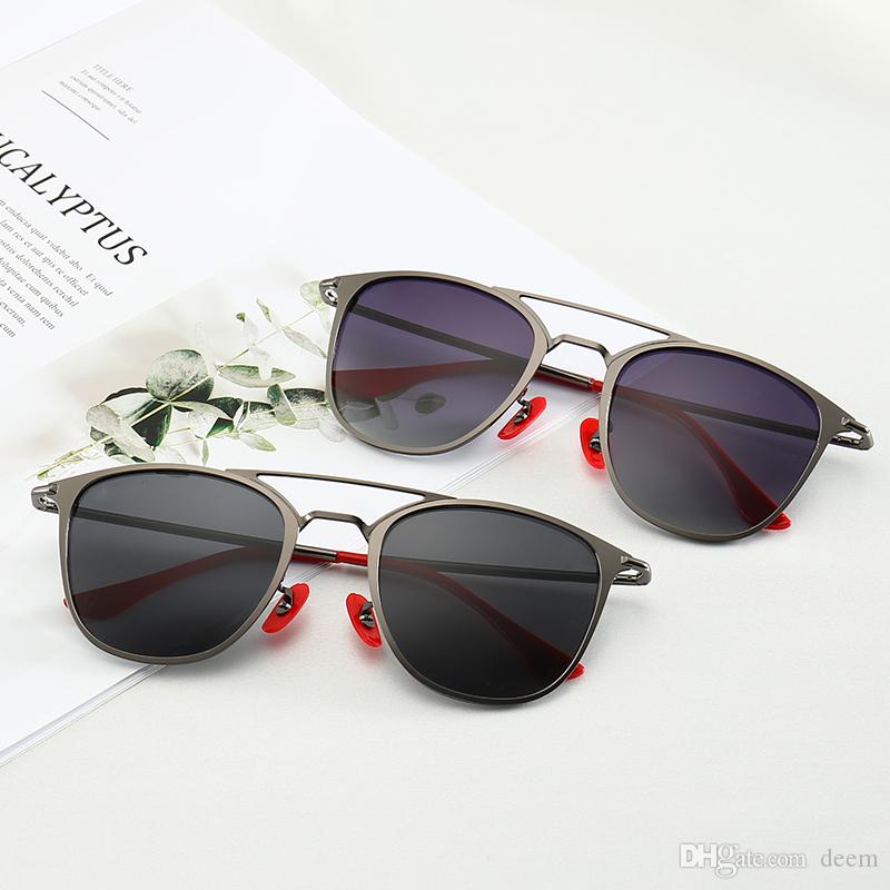 98a9a4ab35d7 2019 Double Beam New Vintage Sunglasses Cat Eye Wayfarers Brand 3602 ...