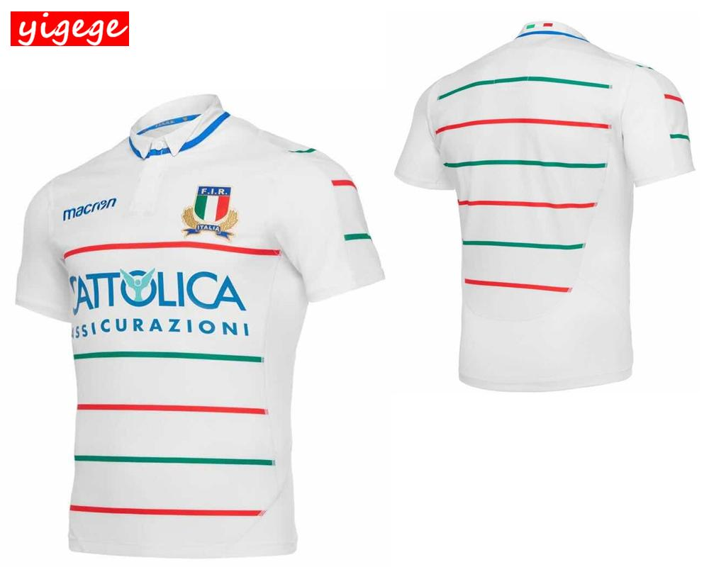 Compre La Mejor Calidad 2019 ITALIA Hogar Lejos Rugby Jerseys FIR Camisa  Equipo Nacional De Italia Liga De Italia Camisetas De Camiseta Tamaño S 3XL  A ... 1fe1c42e5575a