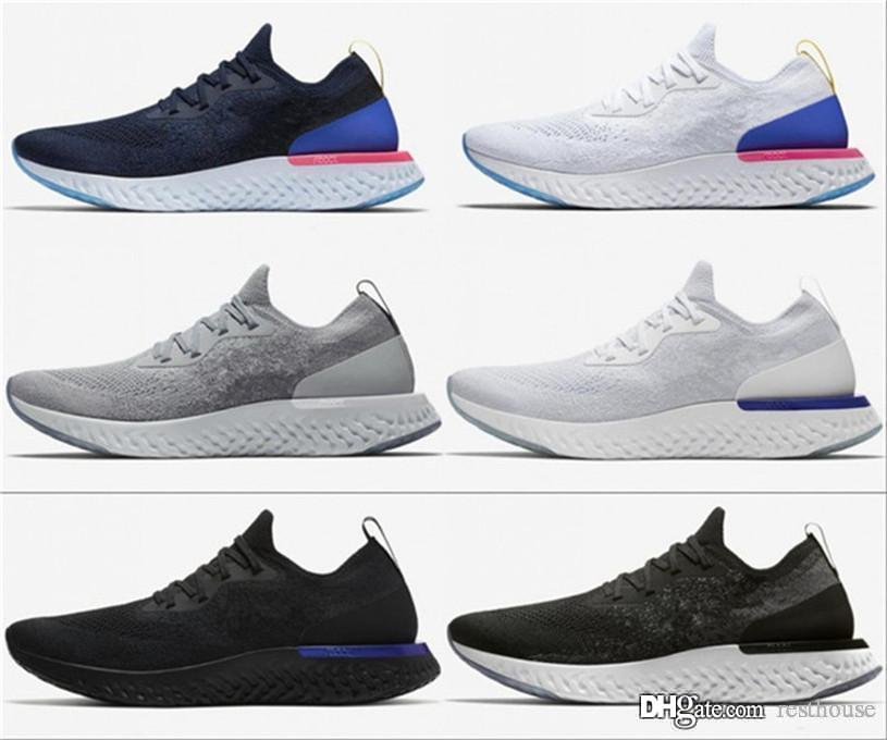 2020 Best Epic React Instant Go Fly V2 men sneakers Belgium Be true Racer blue platinum blue luminous women running sports shoes