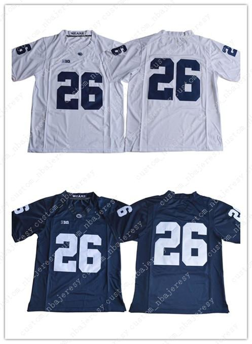 2019 Cheap Custom 2017 Penn State Nittany Lions Saquon Barkley 26 College Football  Jersey Customized Any Name Number Stitched Jersey XS 5XL From ... 9c428600e