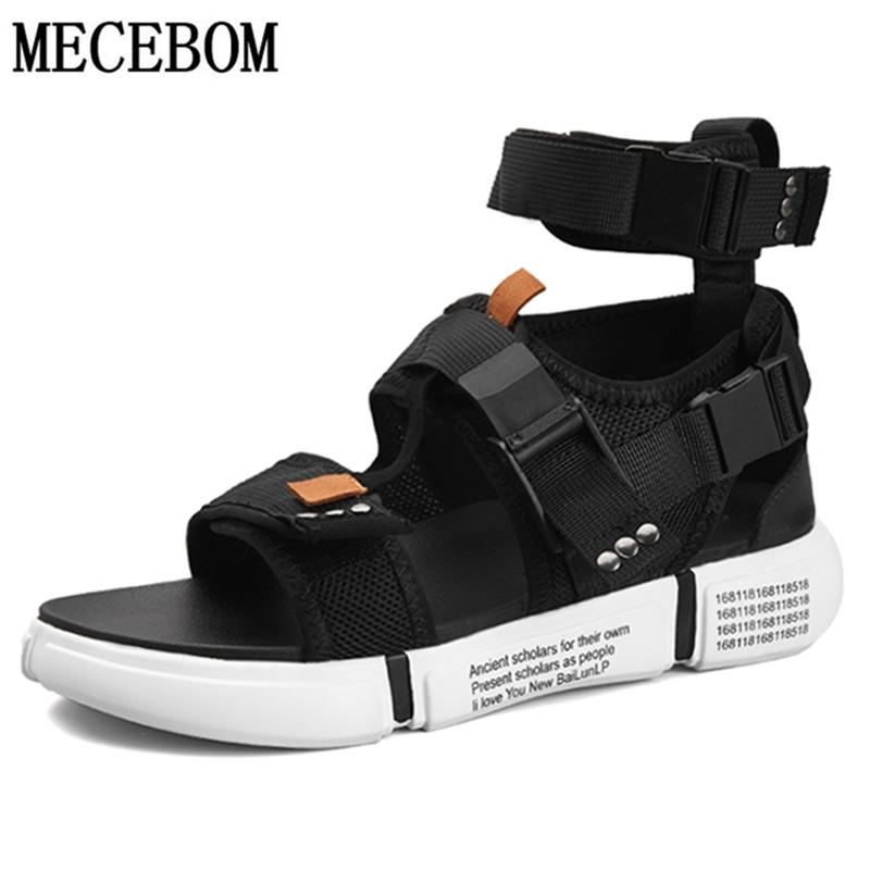941ab0dfb63 Summer Men S Gladiator Sandals Buckle Design Slip On Casual Sandals For Male  Fashion Men Beach Zapatillas 899M High Heels Heels From Kendymade