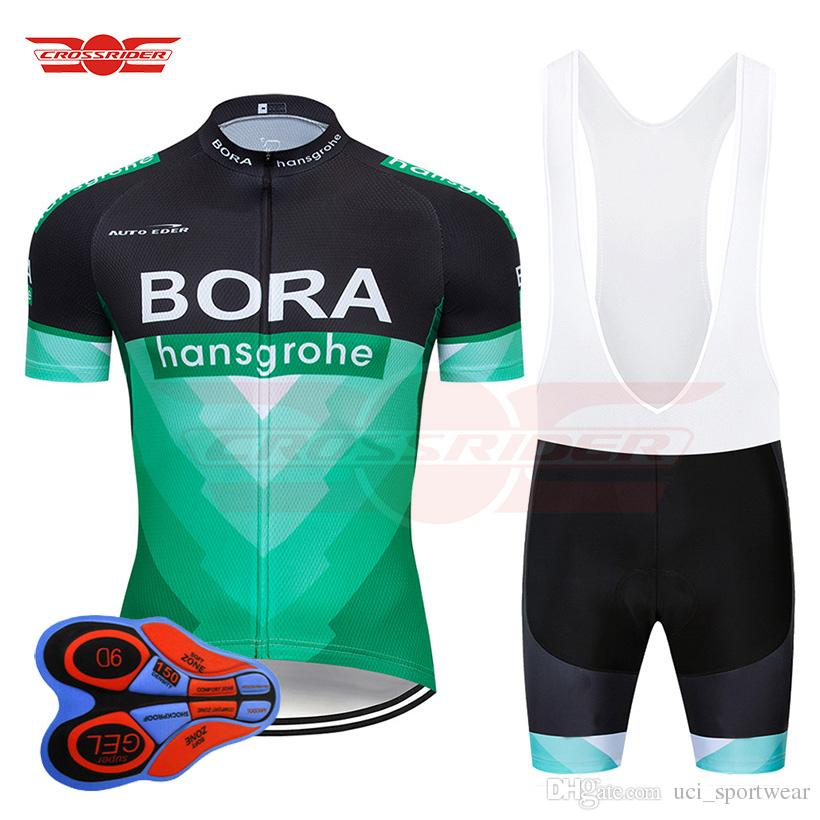 2019 Bora Cycling Jersey 9D Bib Set MTB Bicycle Clothing Ropa ... c6871148e
