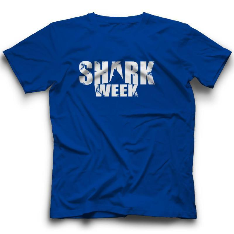 51b27259ef Shark Week Fin T Shirt TV Discovery Channel Funny New Tee Funny Unisex  Casual Tshirt Awesome T Shirts For Guys Cool Tee Shirt Designs From  Funnybonetees, ...