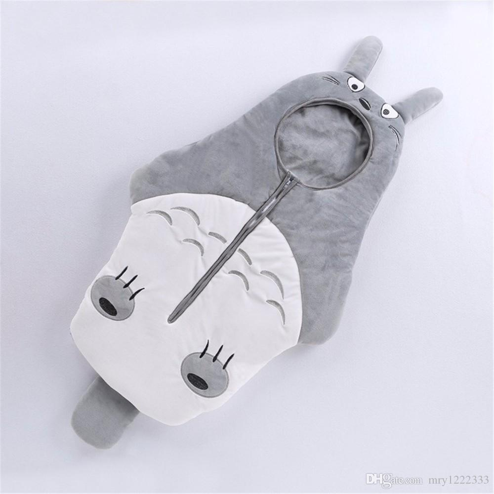 Baby Sleeping Bag Newborn Cartoon Neighbor Totoro Sleeping Bags Newborn Baby Carriage Bedding Warm Pretty Sleep Sack