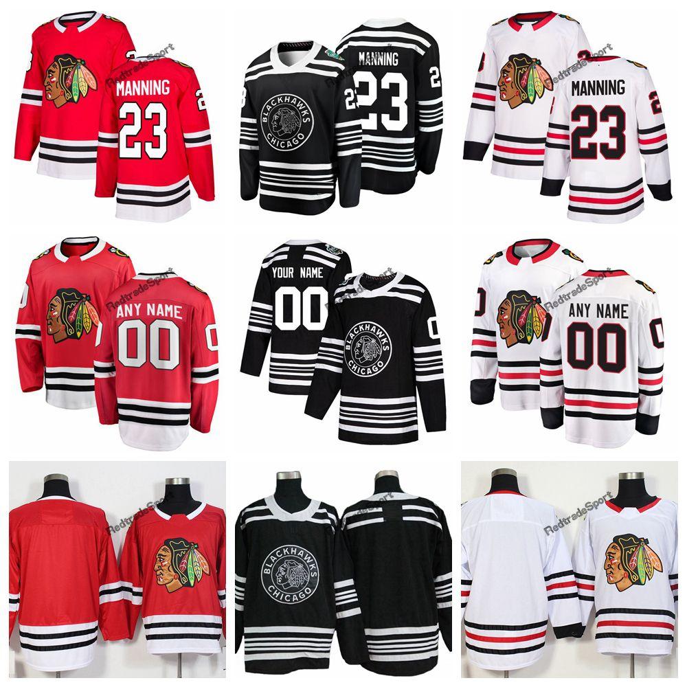 2019 2019 Winter Classic Chicago Blackhawks Brandon Manning Hockey Jerseys  Cheap New Black  23 Brandon Manning Stitched Jerseys Customize Name From ... 634377d4f