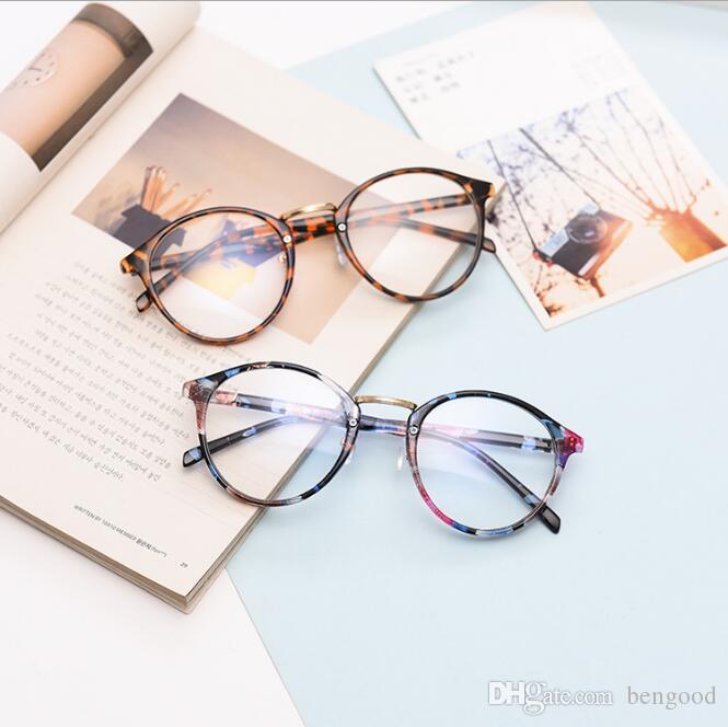 92d1204bed93 Diseñador de la marca de alta calidad Decoración de moda Gafas de  conducción al aire libre Compras Ronda Gafas Vintage Frame Retro Eyewear