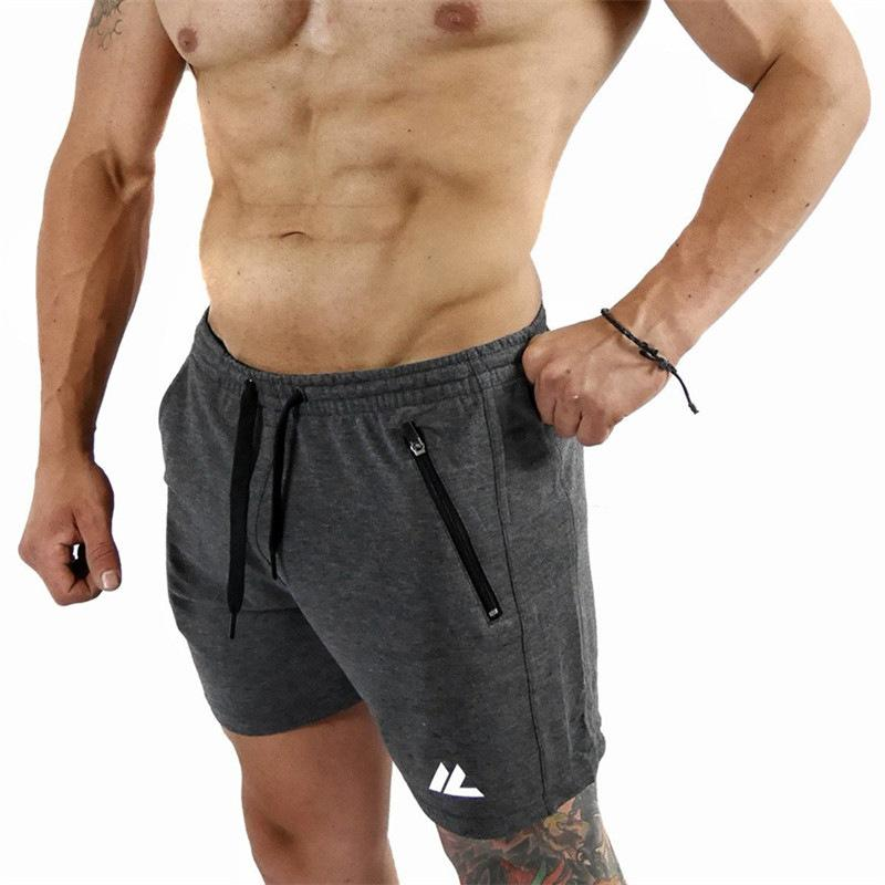 Compre Marca De Corrida Shorts Homens Basquete Ginásio De Esportes Calças  Curtas Trianing Futebol Sweatpants Quick Dry Ao Ar Livre Calções De Jogging  ... 3e3c53cc86dfd