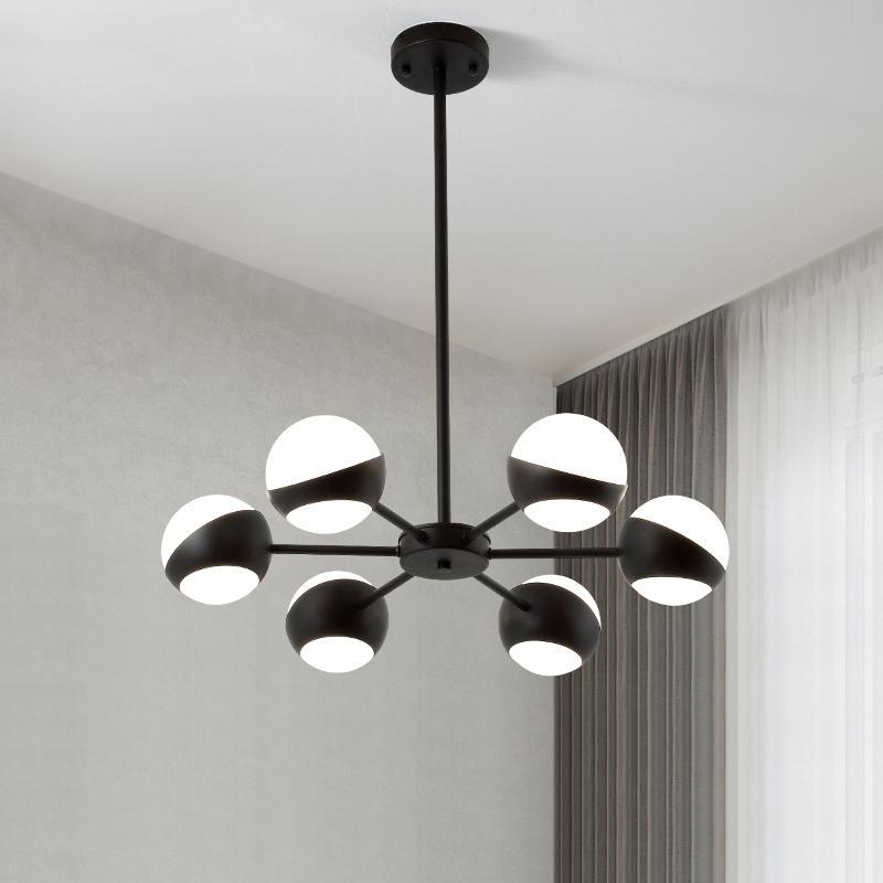Lampadario moderno Illuminazione Lampadario di lusso Illuminazione  Lampadario LED per camera da letto Soggiorno Decorazione della casa Lampada  a ...