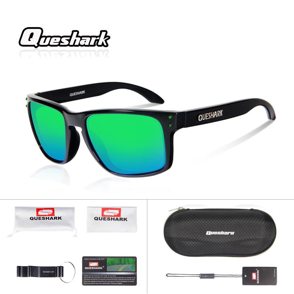 f92c2f5dd71 2019 Queshark Professional Women Men HD Vision Polarized Cycling Glasses  Outdoor Sports Printed Sunglasses UV400 Coating Lens Eyewear From Lianqiao
