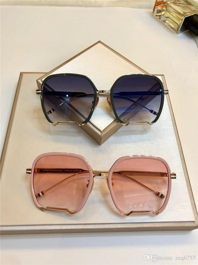 61fc87efb Compre Designer De Óculos De Sol Estilo Clássico Quente Quadro Quadrado  Uv400 187 Proteção Ao Ar Livre Eyewear Top Quality Com Caixa Original De  Zzq6757, ...