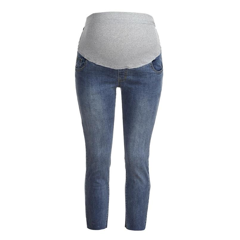 f02afd626 Compre M XXL Ropa De Maternidad Ropa De Embarazo Mujer Embarazada Pantalones  Pitillo De Maternidad Pantalones Pantalones De Maternidad Ropa Embarazada  O23 ...