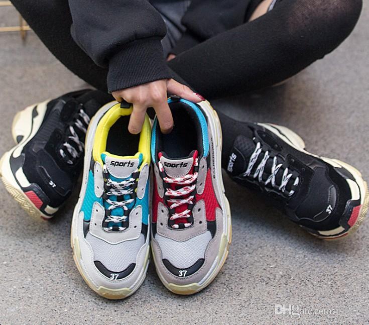 Mujer Y Moda Cordones Zapatillas Plataforma Deporte Para Chunky Superstar Con Hombre Zapatos De 8Om0vNnw