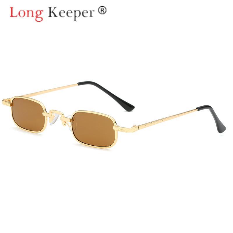 a98ac251eb9f Long Keeper Sunglasses Women Men Little Cute Square Sun Glasses Eyewear  Eyeglasses Metal Frame HD Lens UVful Fashion Cheap Prescription Sunglasses  Oversized ...
