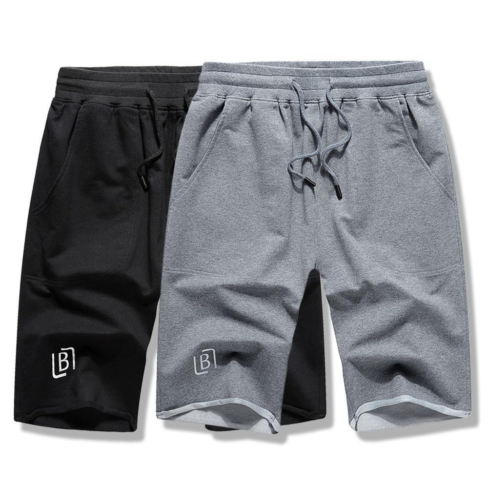 059814afbd Compre Streetwear Shorts Pantalones De Chándal Con Cordón Hombre Hombre  Pantalones Cortos De Algodón De Color Sólido Pantalones Cortos De Chándal De  Verano ...