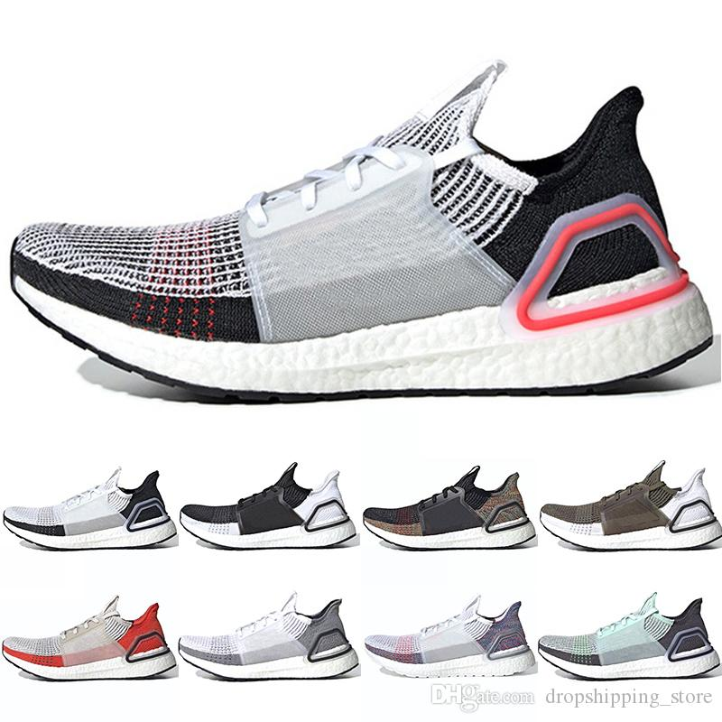 2600795c2aed5 2019 2019 Ultra Boost 5.0 Men Women Running Shoes 19 Ultraboost Laser Red  Oreo Core Black Dark Pixel Trainer Sport Sneaker Size 36 47 From ...