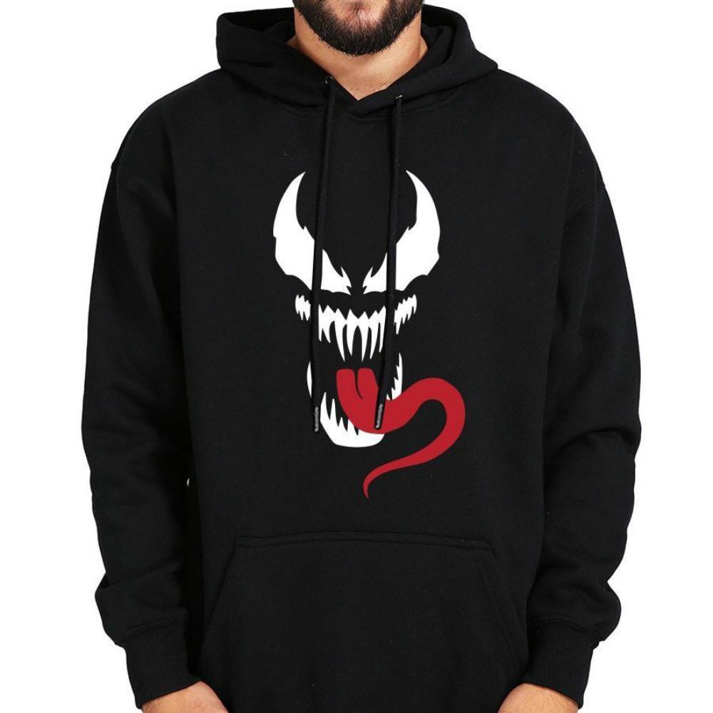 Venom Acheter Superhero En Marvel Coton Sweatshirt Veste Hoodies Awqn4gwdP