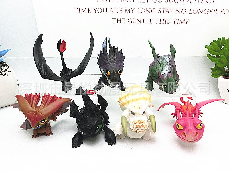 Dragon Master Doll Collection products Plastic cement creative Popular Manual model Party Favor seven piece one set 18cy E1