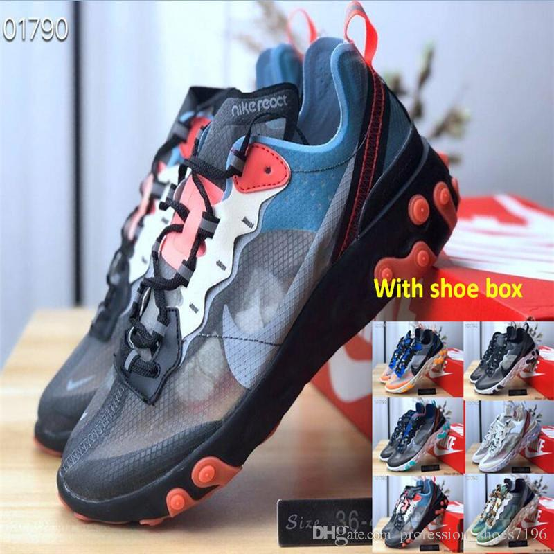 e4ed91d12fce With Shoe Box Epic React Element 87 55 Undercover Men Running Shoes ...