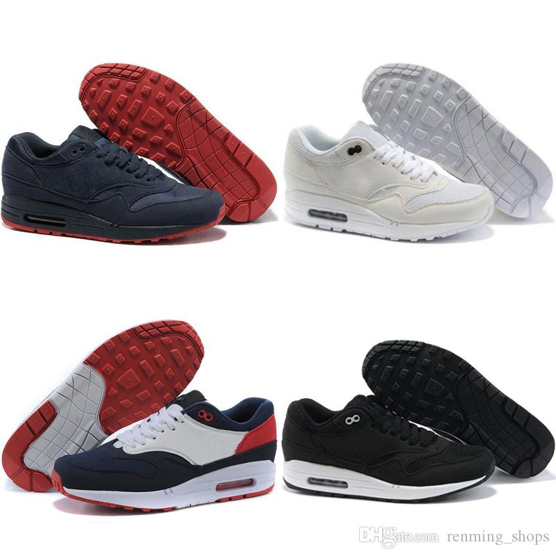 Nike air max 87 2019 Nuevo 87 moda hombre mujer zapatillas Piet Parra Casual diseñador entrenadores de aire Ultra rojo blanco triple negro amarillo