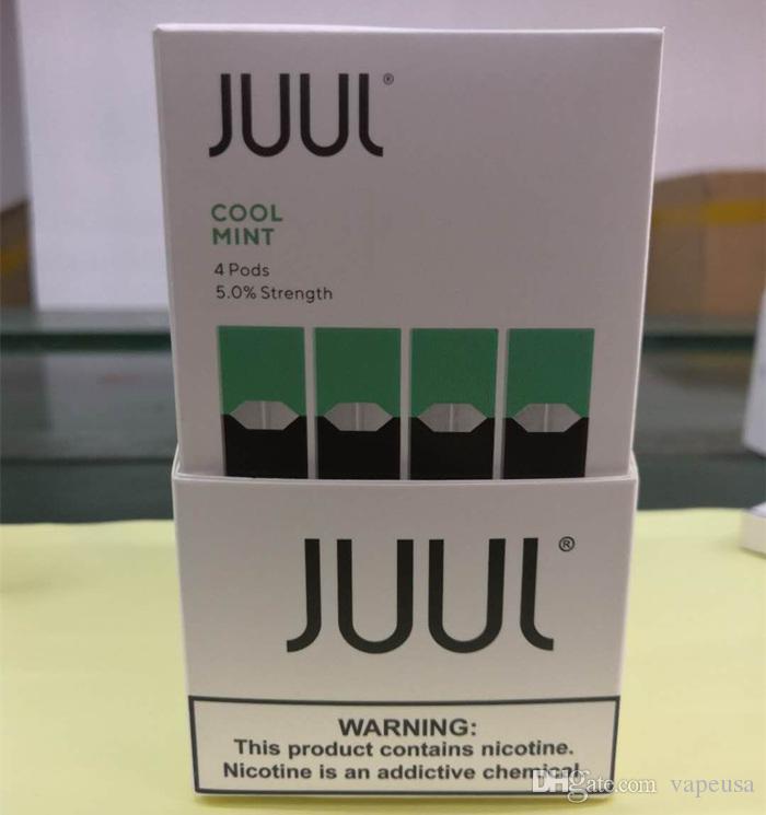 2019 Juul Pods For Juul Vaporizer Kit No Leak 4 Juul Cartridge Pod